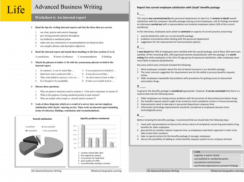 Business writing worksheets ngl life business writing worksheets ibookread Read Online
